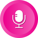 mic, microphone, radio, recording, speak icon