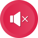 audio, music, mute, player, sound, speaker, volume icon