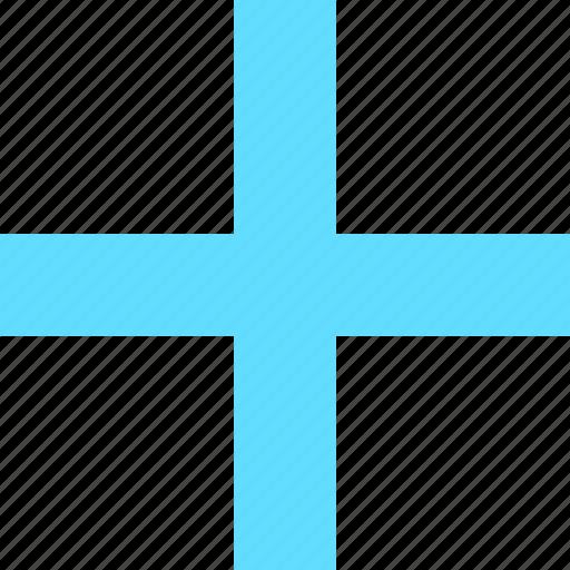 add, create, cross, math, new, plus, sign icon