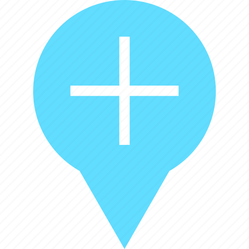 add, gps, location, map, more, navigation, pin icon