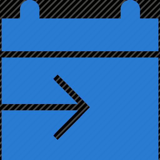 Calendar, date, schedule, send, share icon - Download on Iconfinder