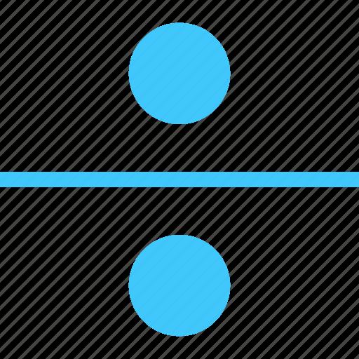 divide, division, dote, square icon