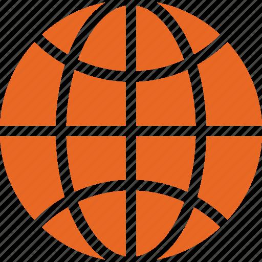 earth, global, globe, internet, map, world icon