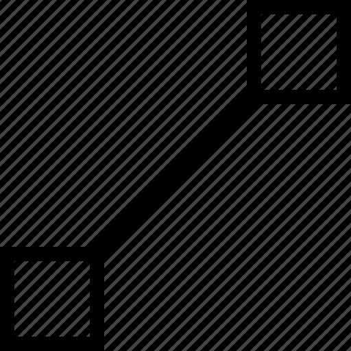 arrow, maximize, zoom in icon icon