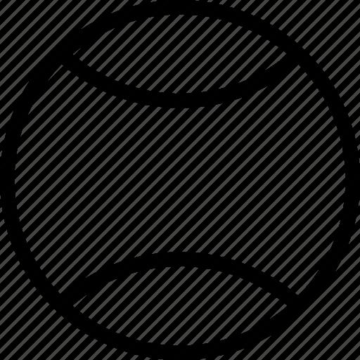 ball, equipment, fun, sports, tennis ball, tennis icon icon