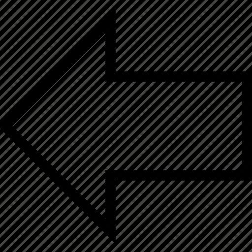ago, arrow, arrow left, back, direction, left icon, previous icon