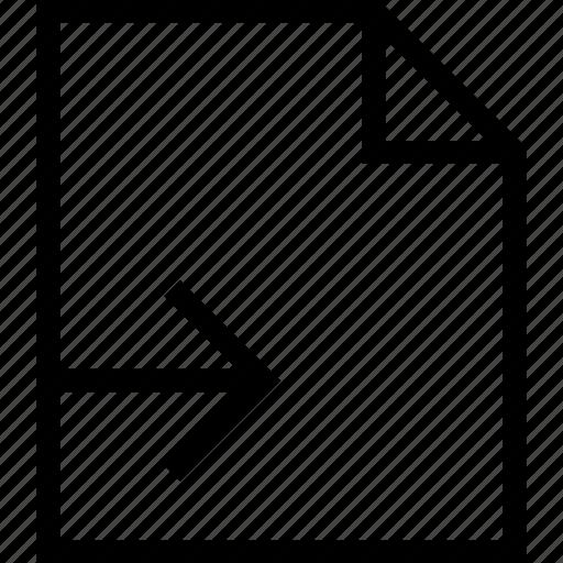 document, exit, export, file, send icon, sending icon