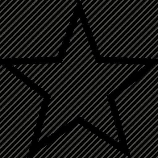 bookmark, favorite, favourite, rate, star icon icon