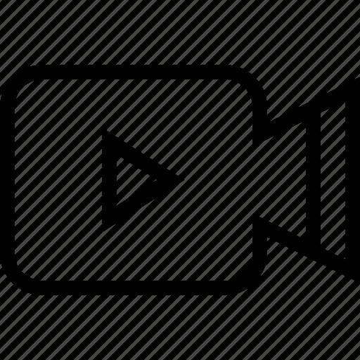 camcorder, camera, recording, video camera, video recording icon icon