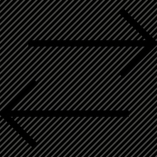 arrows, direction, orientation, swap, switch icon icon
