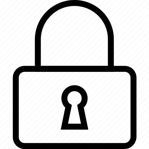 lock, password, privacy, protected, safe, security icon icon