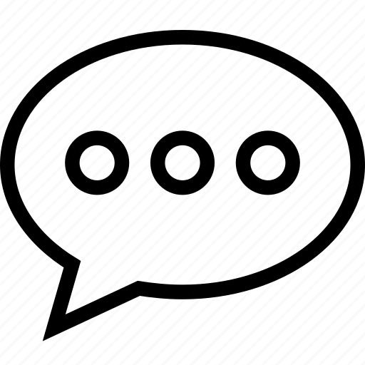 bubble, chat, comment, streamline, support, talk icon icon
