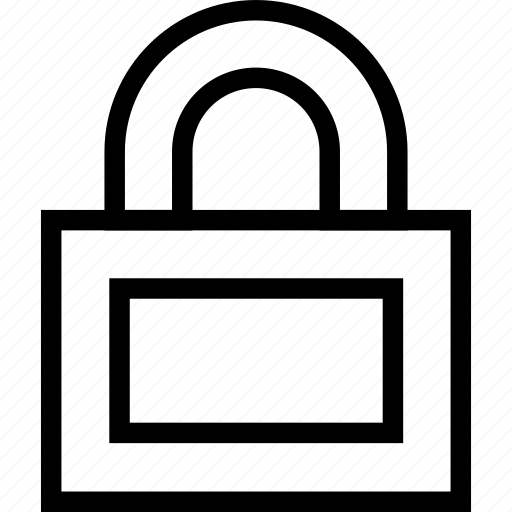 lock, locked, password, protected, safe, security icon icon