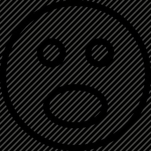 big, emoji, face, happy, smile, smiley icon icon