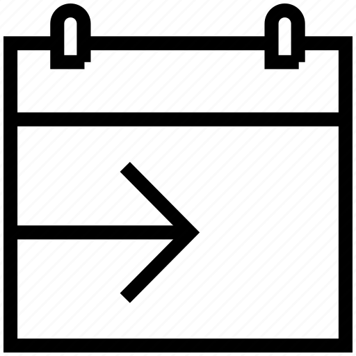 calendar, schedule, send date, share, share date icon icon
