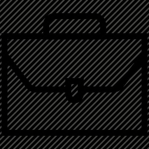 bag, briefcase, business bag, documents bag, portfolio icon icon