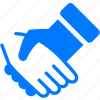 agreement, blue, business, contact, contacts, contract, contractors, deal, friendship, hands, handshake, hello, shake icon