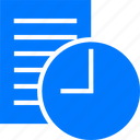 blue, business, clock, management, plan, schedule, sked, table, time, timetable, wait, watch icon
