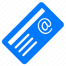 blue, cutaway, document, email, envelope, letter, mail, news, newspaper, postcard, rss, send icon