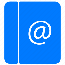 address book, blue, contact, contacts, email, friends, list, mail, mail list, people, pocketbook, profile, user list, users icon
