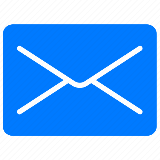blue, close mail, email, envelope, letter, mail, message icon