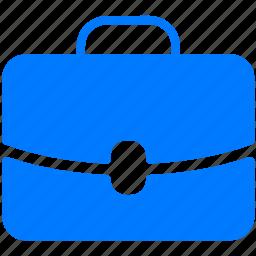bag, brief, brief-bag, briefcase, career, case, handbag, job, leather, portfolio, portmanteau, pouch, purse, satchel, schoolbag, suitcase, travel, trunk, valise icon