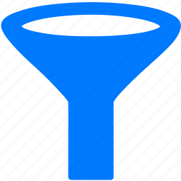 filter, funnel, separate, sort icon