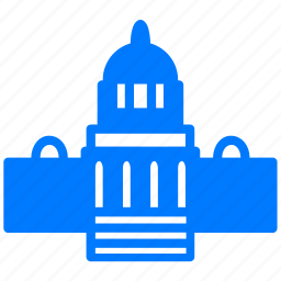 capital, government, justice, law, official, state icon