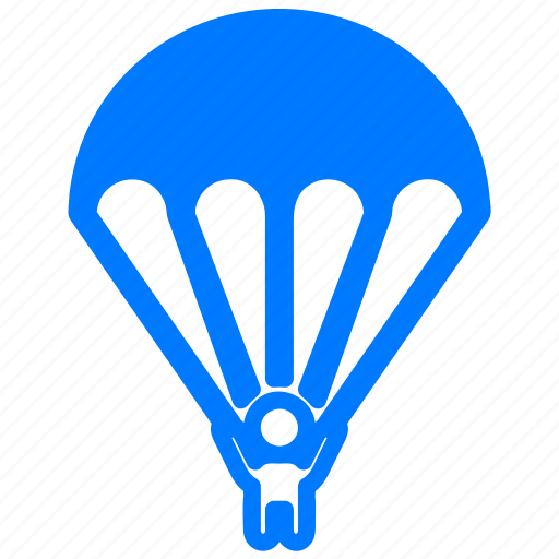 activities, adrenalin, adrenaline, air, descent, diving, drop, jump, jumping, parachute, parachutism, sky, skydiving, sport, sports, swoop, zone icon