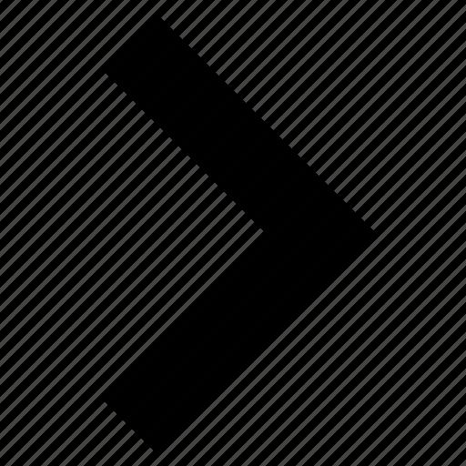 arrow, circle, disclosure, next, stroke icon