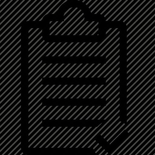 checkmark, clipboard, done, editor icon