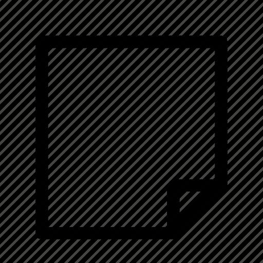 editor, memo, note, pad icon