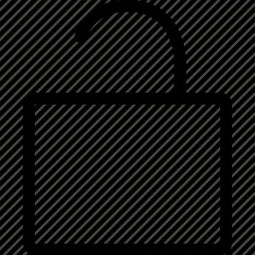 editor, lock, unlock icon