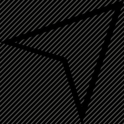 location, map, service icon