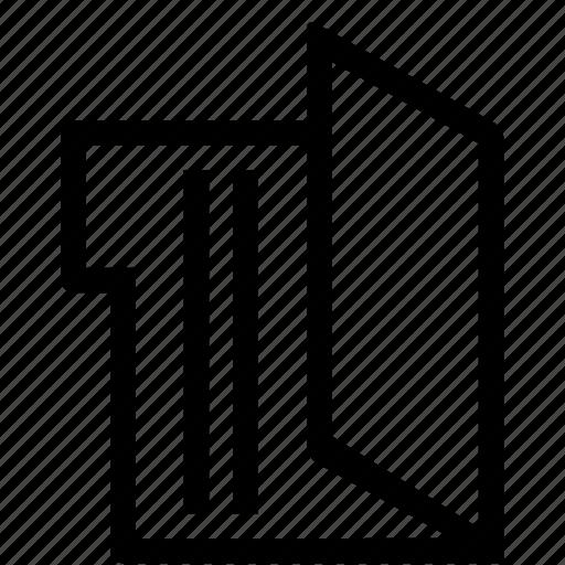 editor, folder, open icon