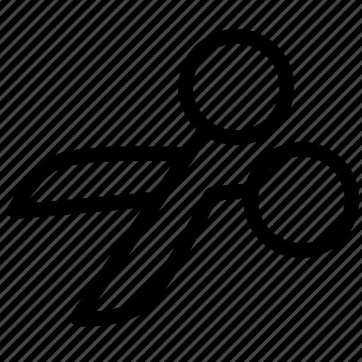 cut, design, edit, editor, scissors icon