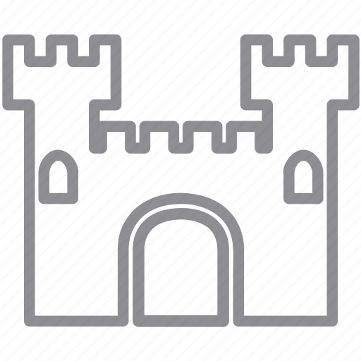 architecture, base, bastion, building, castle, chateau, citadel, classic, construction, defence, defense, defenses, defensive, fieldwork, firmness, fortress, historic, historical, home, lord, real estate, strength, tower icon