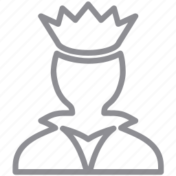 boss, crown, governor, king, lord, main, power, queen, royal icon
