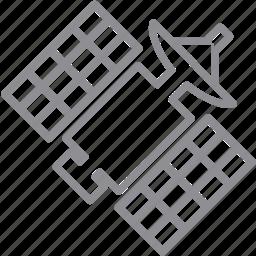 antenna, communication, connection, connections, intelsat, internet, maneuvers, network, radio, sat, satellite, signal, space, space station, sputnik, wifi, wireless icon