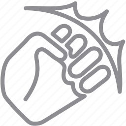 answer, bang, beat, blow, boxing, break, bump, fight, fighting, fist, gestureworks, gopnik, hit, impact, jab, kick, knuckle, kulak, mitt, mutiny, outbreak, rebellion, revolt, riot, rise, rising, shock, shot, strife, strike, striving, stroke, struggle, uprise, uprising, war, warfare icon