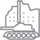destroy, military, tank, transport, truck, war, warfare, weapon icon