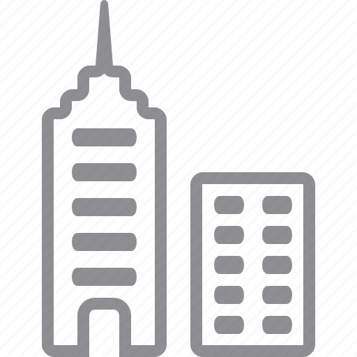 bank building, business center, center, central office, centre, city, company, downtown, finance, home, house, tower, towers, town icon