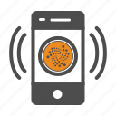 app, cellular, cryptocurrency, iota, mobile icon