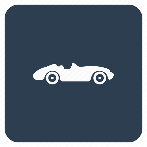 app, auto, cabrio, cabriolet, car, classic, old icon