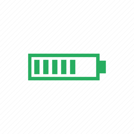 battery, charge, level, mobile, phone icon
