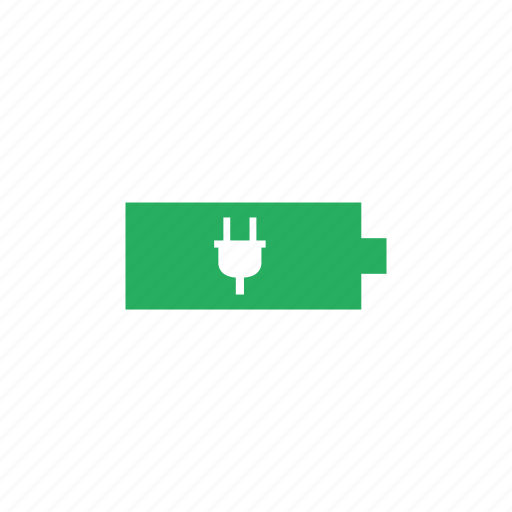 Battery, mobile, charge, electric, phone icon