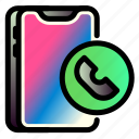 call, iphone, mobile, phone, smartphone, technology icon