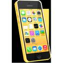 iphone, yellow