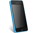 blue, iphone icon