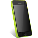 green, iphone icon